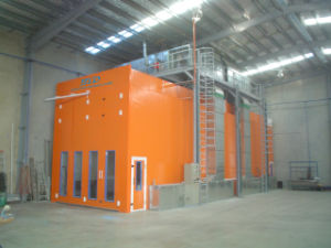 Btd Truck Paint Booth for Sale Spraying Booth pictures & photos