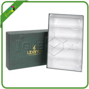 Elegant A5 Paper Cardboard Gift Box with Fancy Paper pictures & photos