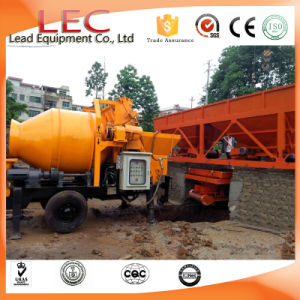 Ljbt40 P1 Small Mobile Concrete Pump with Mixer Machines pictures & photos