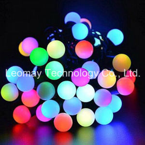 Waterproof 110V RGB Ball 5m 50LED Christmas Light pictures & photos