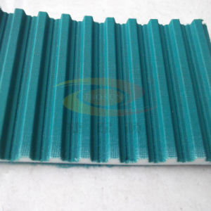 PU Special Timing Belt (with cleat, with glue, with Green Cloth) , Manufacturer pictures & photos