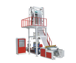 Full-Automatic Vest Bag Plastic Film Blowing Machine with Competitive Price pictures & photos