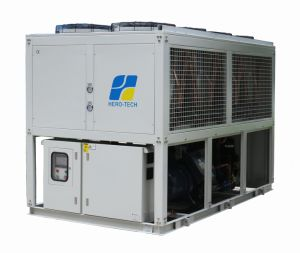 Low Temperature Chiller-Air Cooled Type Screw Water Chiller pictures & photos