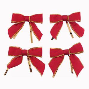 Plain Weave Ribbon Bow (JSY-9) pictures & photos