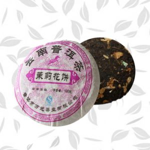 Chinese High Quality Jasmine Flower Tea in Form of Cake pictures & photos