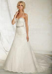 2016 Bridal Venice Lace Wedding Gowns (WMA034) pictures & photos