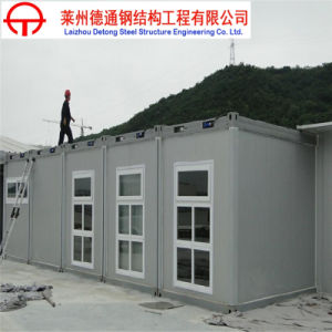 ISO, SGS Certificated Modern Living Container House