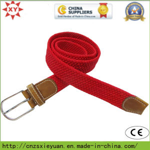 Casual Elastic Leather Belt Buckle pictures & photos
