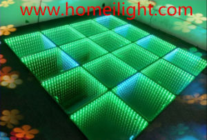 LED Dance Floor RGB 3D Mirror Abyss Dance Floor for Stage pictures & photos