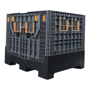 Heavy Duty Folding Large Plastic Container with Lid pictures & photos