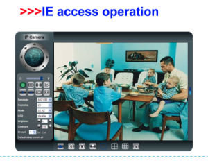 Wireless IP Pan Tilt WiFi P2p Cameras pictures & photos
