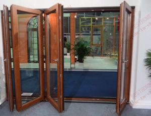 High-Class Aluminium Bi-Folding Door (BHA-DBF02) pictures & photos