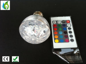New RGB Bulbs Full Color 3W LED Crystal Stage Light Auto Rotating Stage Effect DJ Lamps pictures & photos