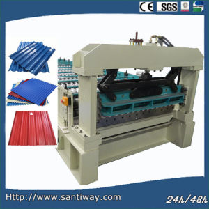 Roofing Tile Sheet Cold Roll Forming Machine pictures & photos