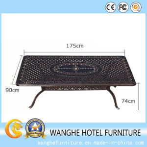 Hotel Outdoor Furniture Metal Coffee Table with High Quality pictures & photos