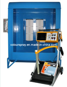 Manual Powder Coating Gun and Small Spray Booth (Colo-800V) pictures & photos
