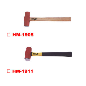 American Type Sledge Hammer with Wooden Handle pictures & photos
