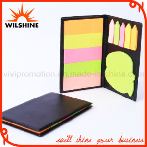High Quality PU Leather Cover Memo Sticky Note Pads (PN238) pictures & photos