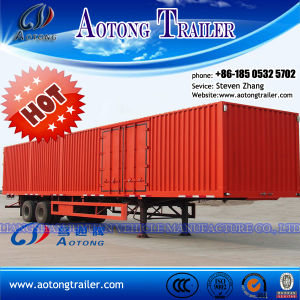 Best Selling Van Type Box Semi Trailer for Sale pictures & photos