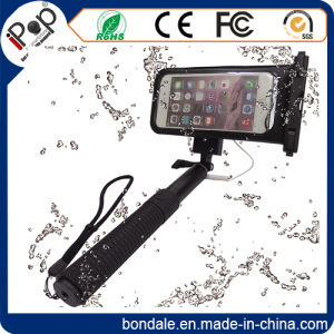 Waterproof Monopod Selfie Stick for Take Photo with Waterproof Pouch pictures & photos