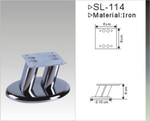 Chrome Plated Furniture Leg Sofa Leg (SL-134) pictures & photos