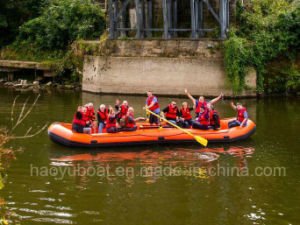 Raft Boat, PVC or Hypalon Boat, Inflatable Boat, Rescue Boat, Fising Boat, Adventure Boat Hy-P762 pictures & photos