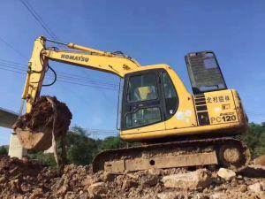 Used Komatsu Excavator PC120, PC200-6 PC200-7 PC220-6 12ton (PC120-6) Crawler Excavator pictures & photos