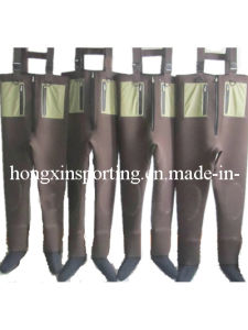 Neoprene Fishing Wader with Socks (HX-FW0008) pictures & photos