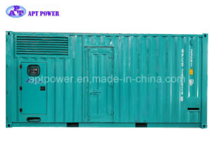 3 Phase 4 Wire 50Hz 900kw Container Diesel Generator Set pictures & photos