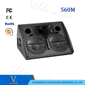 560m High Power Bass Double 12′′ Woofer Professional Monitor for Stage pictures & photos