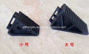 with Handle Wheel Chocker, Rubber Blocker, Rubber Car Wedge pictures & photos
