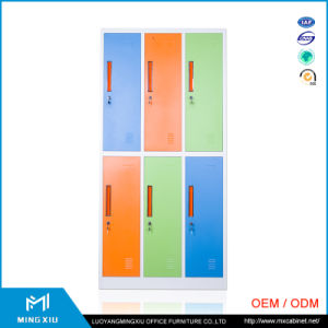 China Mingxiu Supplier 6 Door Used Steel Storage Cabinets / Metal Locker pictures & photos