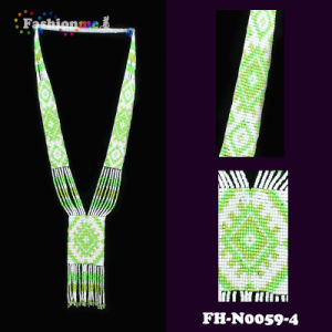 Handmade Seed Bead Necklace