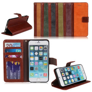 Wallet Leather Mobile Cell Phone Case for iPhone6 pictures & photos
