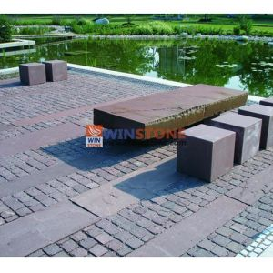 White/Grey/Black/Red Porphyry Granite Paving Stone for Outdoor