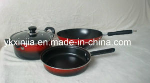 Colorful Carbon Steel Kitchenware Set/Cookware Set with Non-Stick Coating pictures & photos