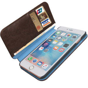 PU Leather Holder Cover Mobile Phone Case Cover for iPhone pictures & photos