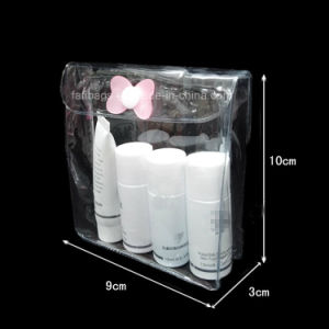 Clear PVC Zip Bag for Cosmetic and Packing pictures & photos