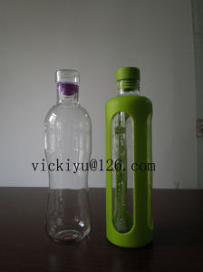 600ml Heat-Resisting Glass Tea Bottle Glass Water Bottle pictures & photos