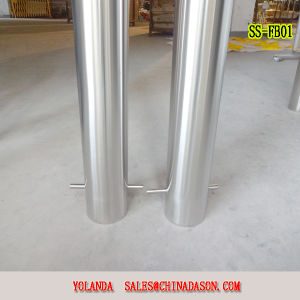 Metal Fixed Bollard Ss-Fb22 pictures & photos