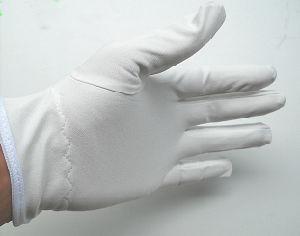 Shanghai Lingtech ESD Garment Cleanroom Lint Free Microfiber Gloves pictures & photos