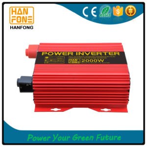 2000watt Hanfong DC AC Inverter with Temperature-Controlled Fan pictures & photos