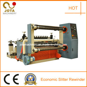 China New Plastic Roll Cutting and Rewinding Machine pictures & photos