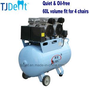 Quiet Clinic 60L Dental Material Air Compressor (TJ-160/60) pictures & photos