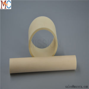 High Temperature Refractory Al2O3 Alumina Ceramic Pipe Shaft Sleeves pictures & photos