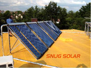 Heat Pipe Solar Collector with Powder Coating pictures & photos