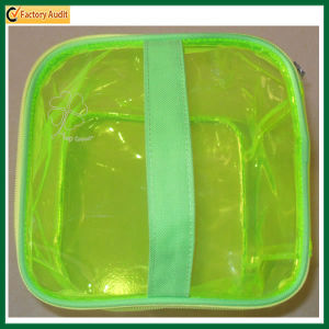 Portable Waterproof Transparent PVC Cosmetic Bag (TP-0B016) pictures & photos