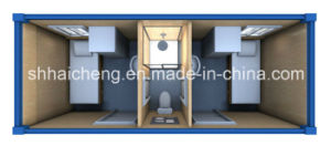 Container Dormitory with Toilet and Shower Cabin for Two People (shs-fp-dormitory017) pictures & photos