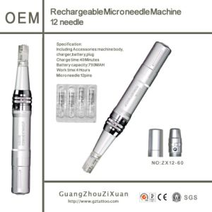 Microneedle Therapy Rechargeable Micro Skin Derma Pen pictures & photos