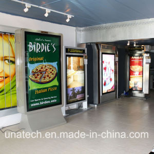 Advertising Media Aluminium Frame Scrolling Light Box Outdoor Street Road Toll Gate LED Billboard pictures & photos
